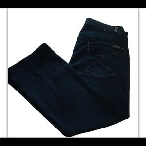 7 for all mankind Jeans, Bootleg, Indigo Blue